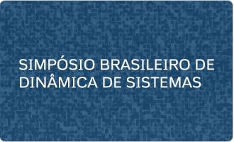 Simposio Brasileiro de Dinâmica de Sistemas